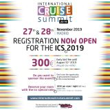 Registration now open for the ICS 2019