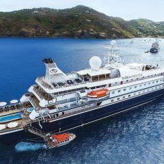 El SeaDream I pausa su viaje por el Caribe tras posibles positivos de Covid-19 a bordo