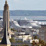 Le Havre, Normandía se abre al turismo de cruceros
