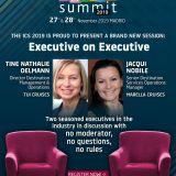 The ICS 2019 is proud to present a brand new session: Executive on Executive
