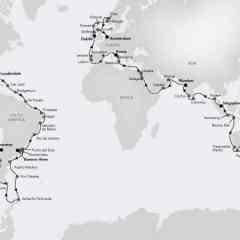 Silversea presenta al equipo a bordo para su vuelta al mundo 2020, además de una colección sin precedentes de experiencias exclusivas
