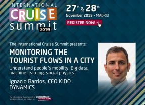 The ICS 2019 presents: MONITORING THE TOURIST FLOWS IN A CITY