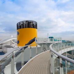 Costa Cruceros reprograma sus itinerarios en Italia para respetar las medidas de contención del Gobierno