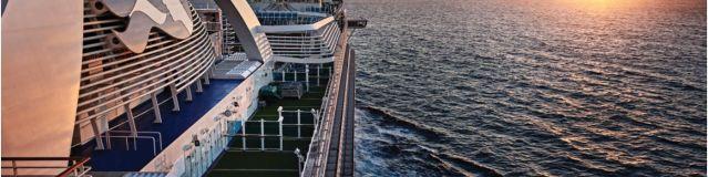 Primera salida del crucero Grand Princess desde Los Ángeles
