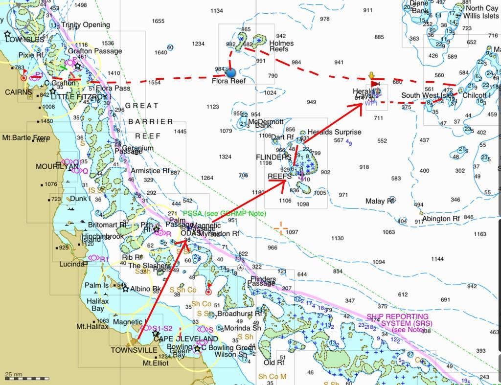 - coral sea cruise map 2014 copy 2