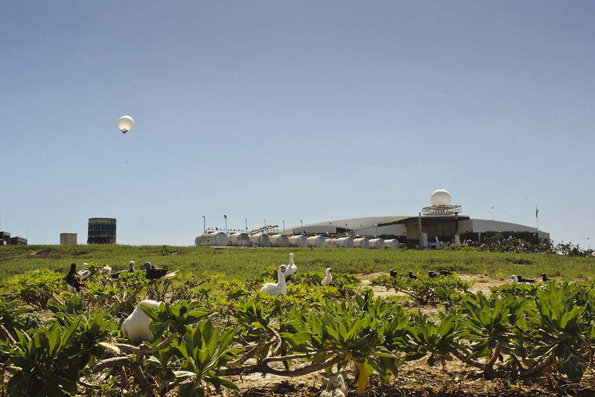 A coordinated weather balloon release occurs each morning.