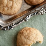 Comfort and Joy: Saffron Snickerdoodles