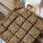 Oat and Quinoa Date Squares