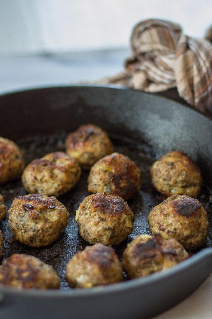 Turkey Meatball Quinoa Bowl