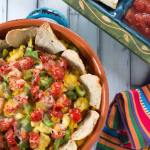 Pork Carnita Breakfast Nachos