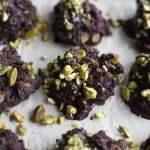 Cranberry Pistachio Cocoa Cookies