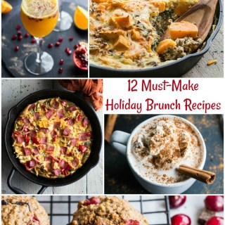 12 Must-Make Holiday Brunch Recipes