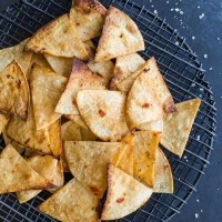 Habanero Lime Air Fryer Tortilla Chips (Gluten-Free)