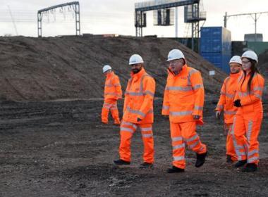 Le futur TGV britannique, plus gros chantier d'Europe