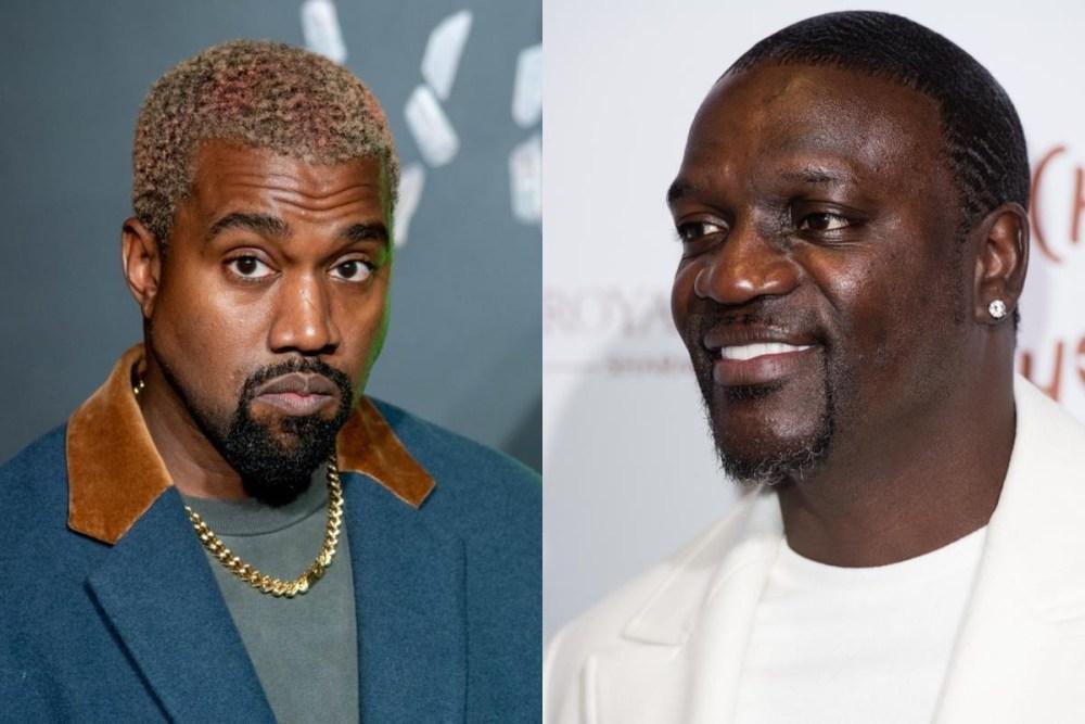 Kanye west-Akon