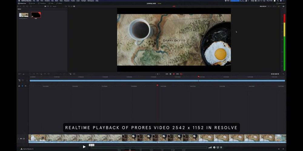 Mac Pro pour ''Jumanji: The Next Level''