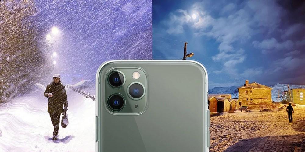 Utilisation du mode Nuit sur l'iPhone 11 pour filmer 40 jours d'obscurité en continu