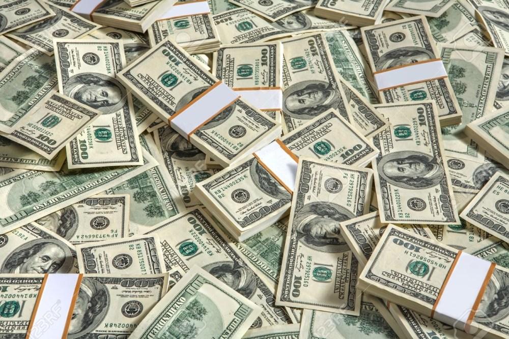 Fond avec de l'argent