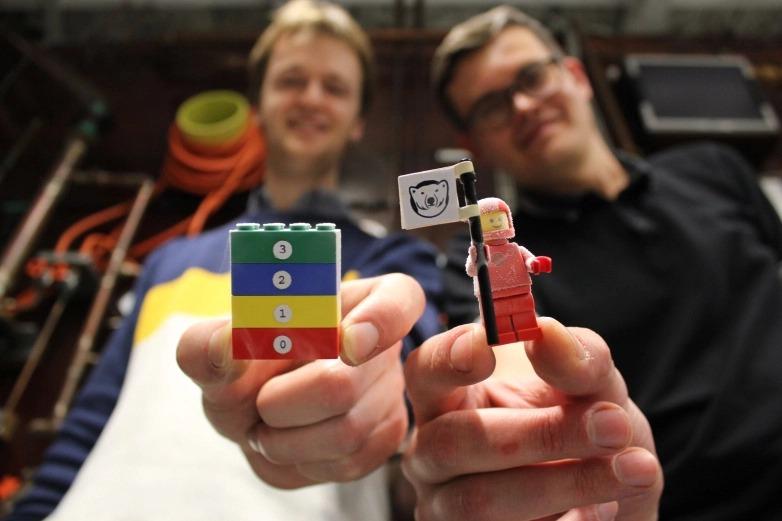 LEGO température record