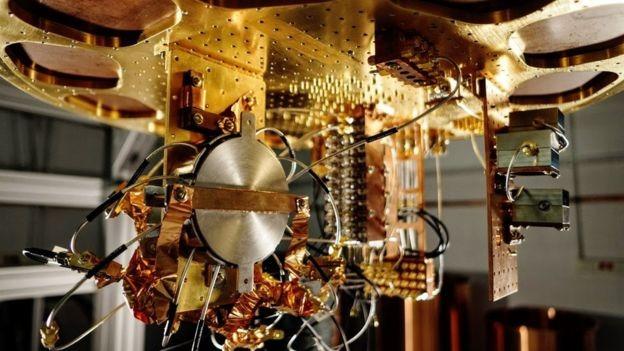 Composants de l'ordinateur quantique de Google