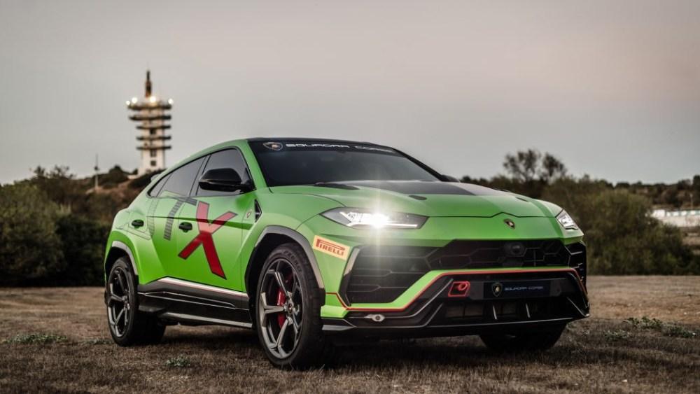 La Lamborghini Urus ST-X