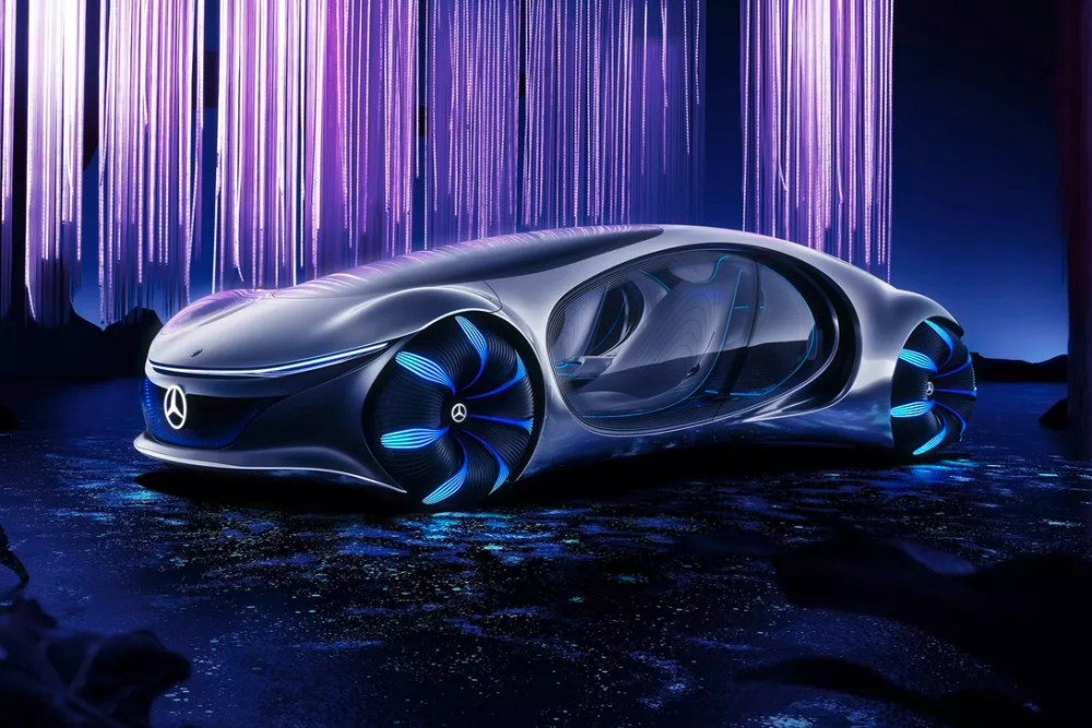 Le showcar CES de Mercedes est un regard inspiré par un avatar