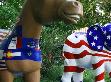 Ces ETF républicains et démocrates concurrents sont étonnamment bipartites dans leurs avoirs boursiers