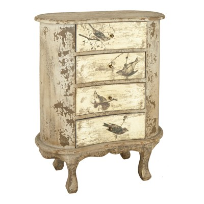distressed and painted bedside table antique effect painted bedside tables crumple co