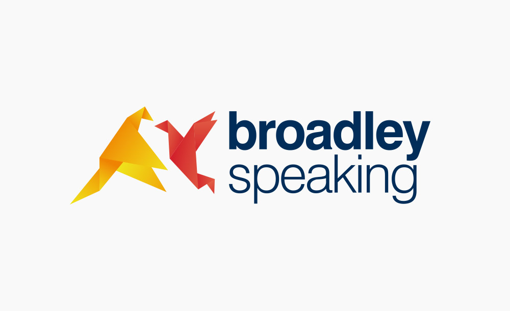 Broadley Speaking Logo Design