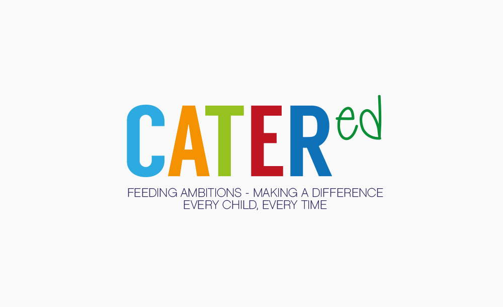 Cater'ed logo design