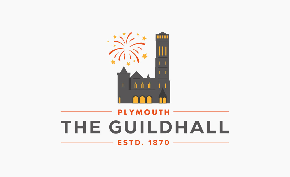 Plymouth Guildhall Logo Design
