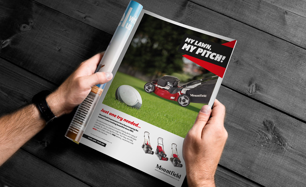 Mountfield Advertising Design
