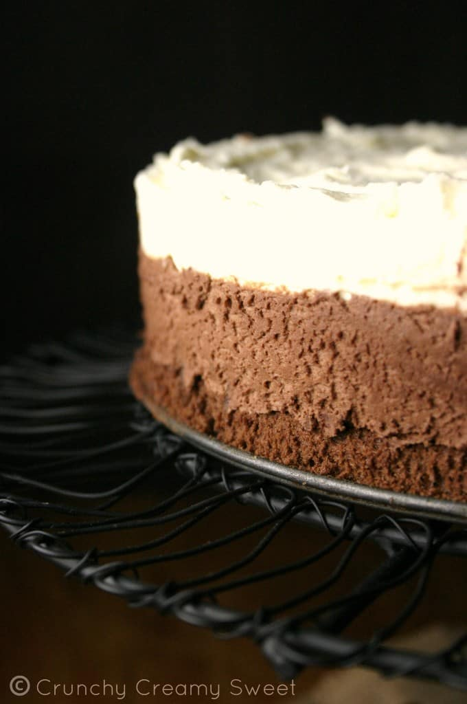 Triple Chocolate Mousse Cake Easy