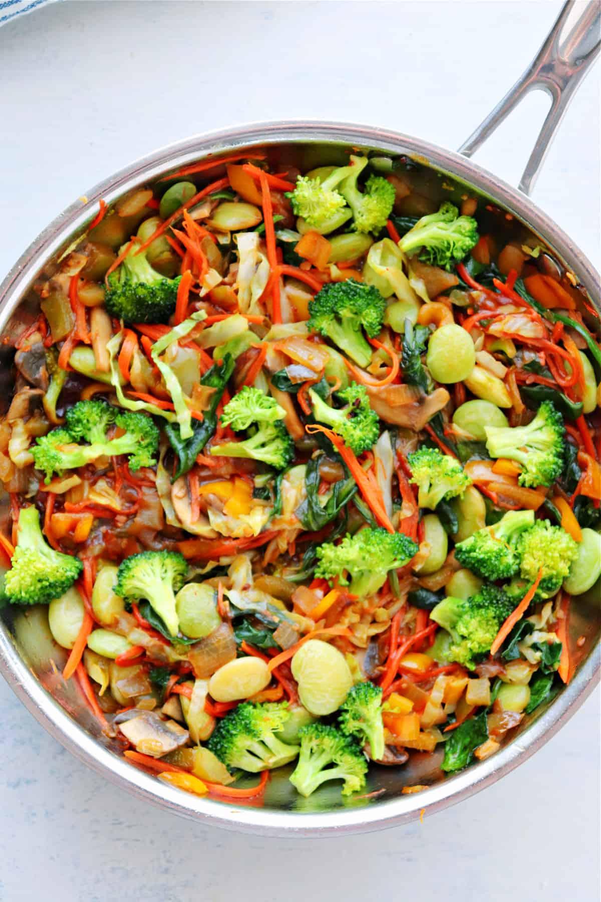 vegetarian stir fry 1 Vegetable Stir Fry