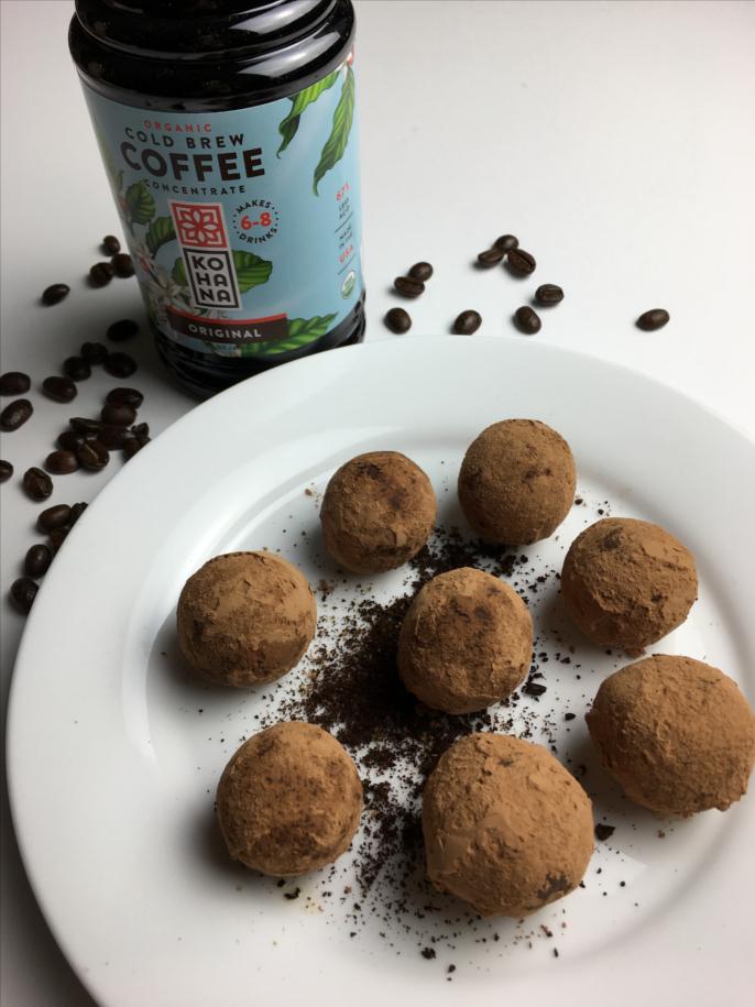 Coffee Cacao Bites for Kohana