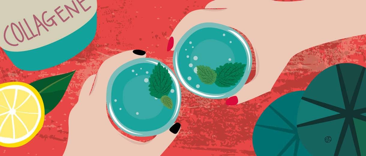 Do Collagen Drinks Really Improve Mature Skin?