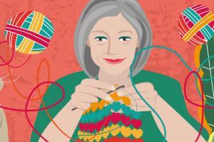 Crochet Hacks Illustration