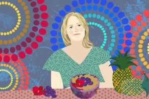 Jacqueline Barleycorn And Her Super Porridge | CrunchyTales | Stefania Tomasich Illustration