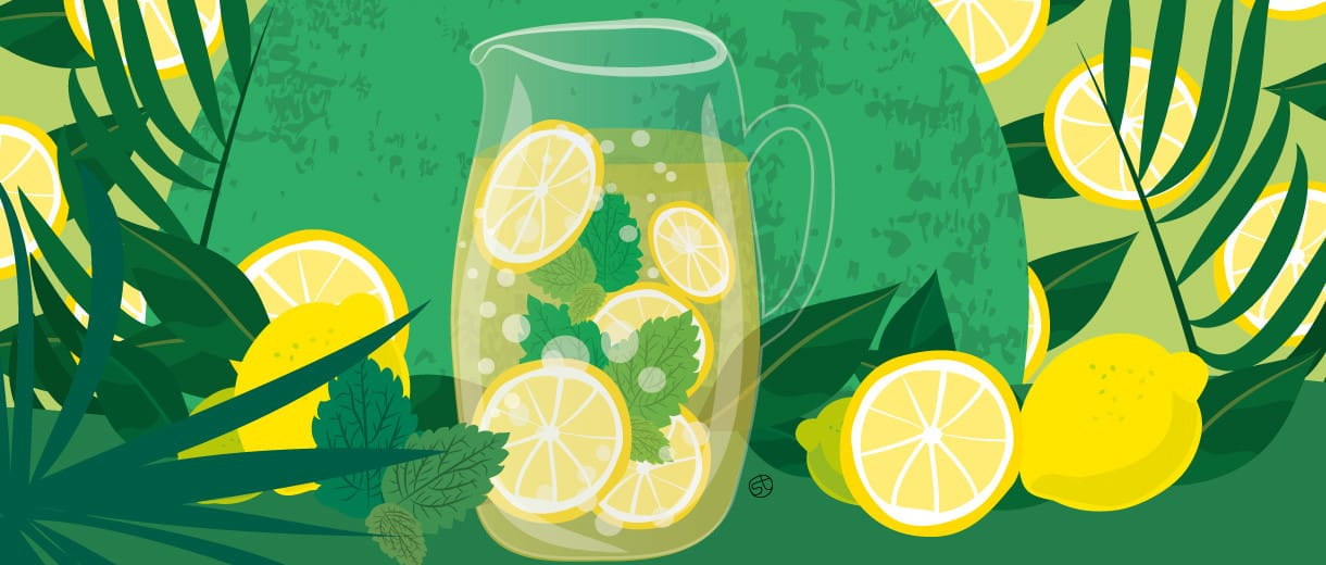 Lemonade For Grown Ups: A Classic Summer Treat With A Twist
