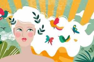 Illustration About Midlife Mind Health   CrunchyTales