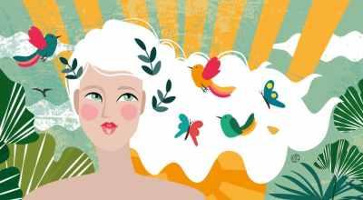 Illustration About Midlife Mind Health | CrunchyTales