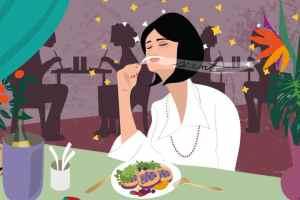 Scent Dinner   CrunchyTales   Stefania Tomasich Illustration