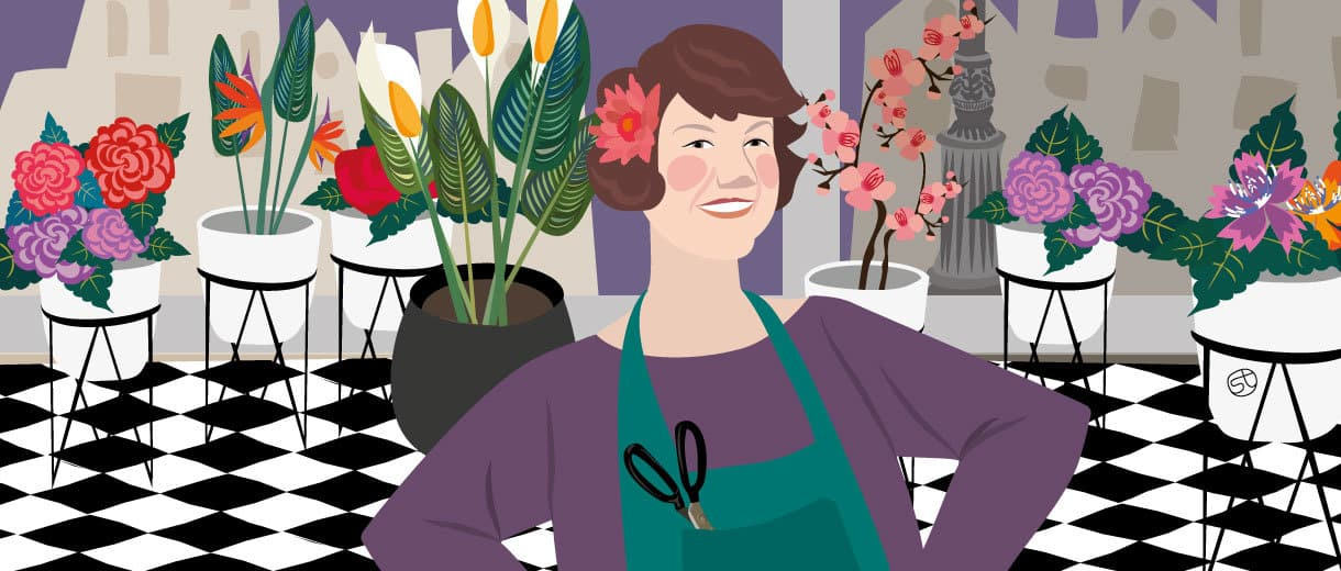 """Florist Ursula Stone: """"Blooming For Good In My 50s"""""""