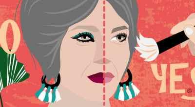 Makeup At 50   Illustration