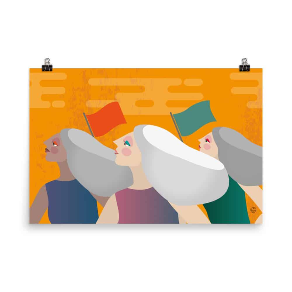CrunchyTales Grey Pride Poster
