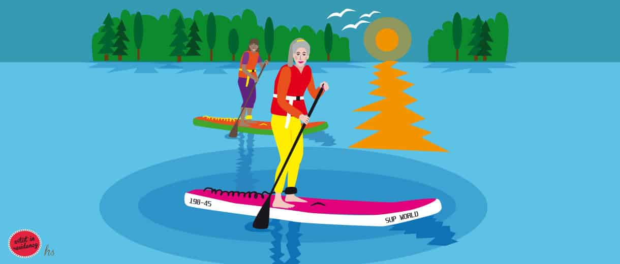 Midlife Sport At Its Best: Stand Up Paddle Boarding