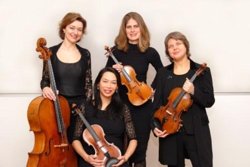Jenufa Kwartet (strijkkwartet) zaterdag 24 november 2018