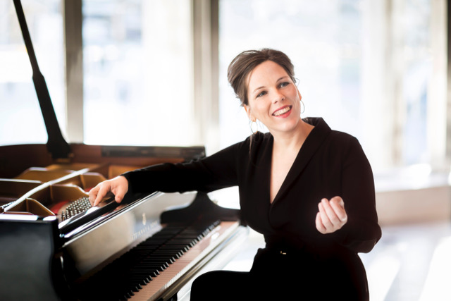 Daria van den Bercken (piano solo) Zaterdag 12 januari 2019