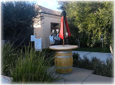 Oak Mountain patio Ent