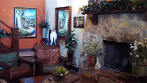 Keyways Lounge and Fireplace